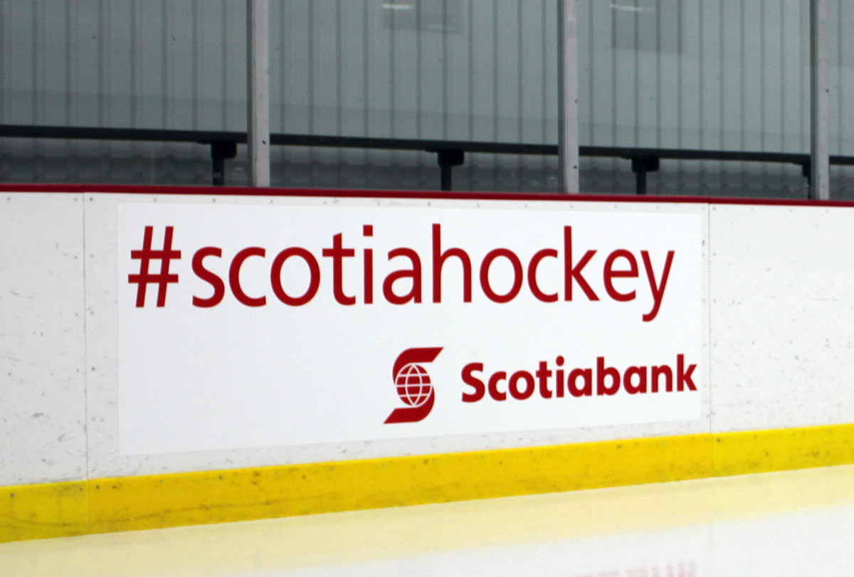 Scotiabank</br> #Scotiahockey