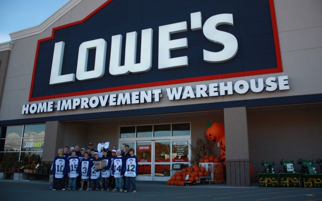 Lowe's Connecting with the Community