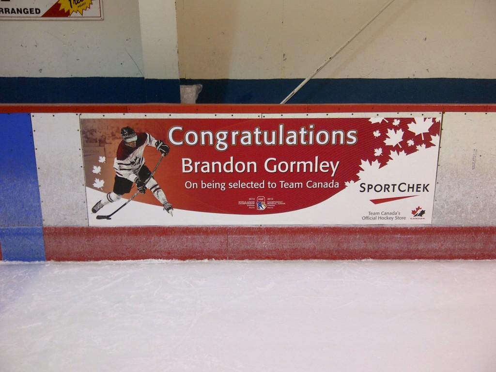 Sport Chek</br> Congratulations Team Canada