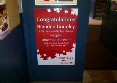 Brandon Gormley Poster - Murray River Rink