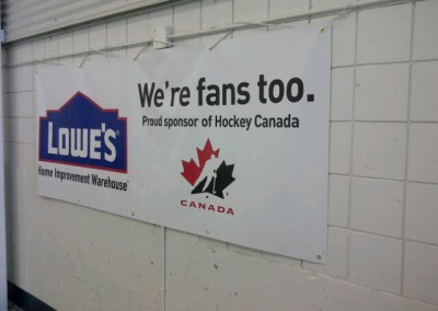 Lowe's Banner Bow Valley