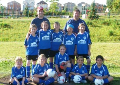 Lowe's Barrie U10 Girls Team