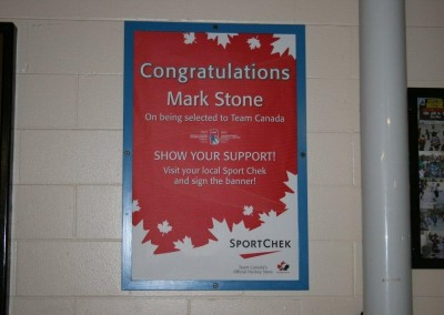 Mark Stone Poster - Keith Bodley Arena