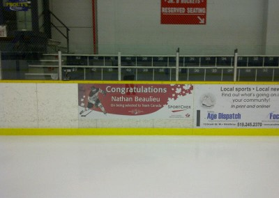 Nathan Beaulieu - West Middlesex Arena