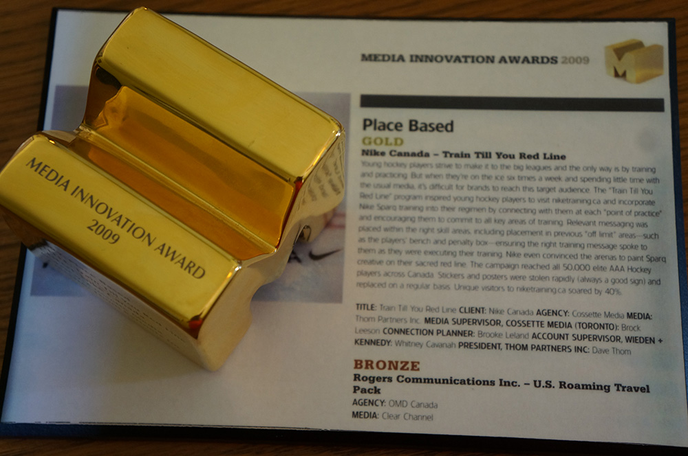 Nike</br> Media Innovation Awards 2009
