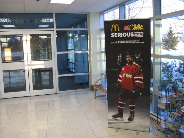 McDonald's</br> atoMc Hockey