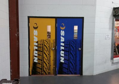 Back of Access Doors